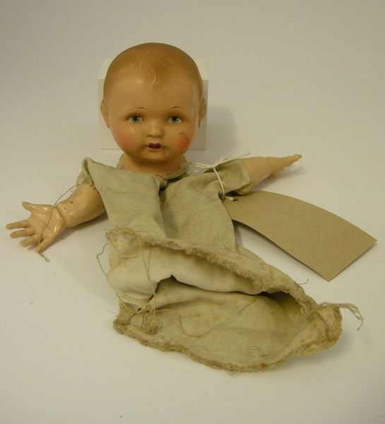 Dolls head puppet Emil Gunter 1915-1920